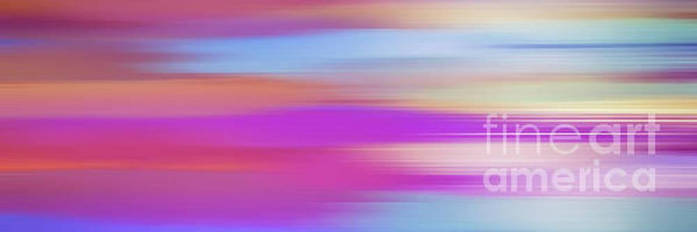 Purple Bliss Sunrise Panorama by Kaye Menner by Kaye Menner