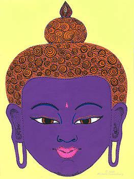 Purple Buddha by Michelle Darensbourg
