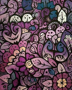 Purple by Carole Hutchison