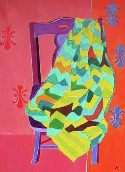 Purple Chair by Martin Silverstein
