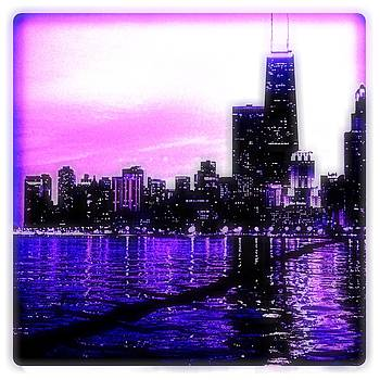 Purple City by Collette Rogers