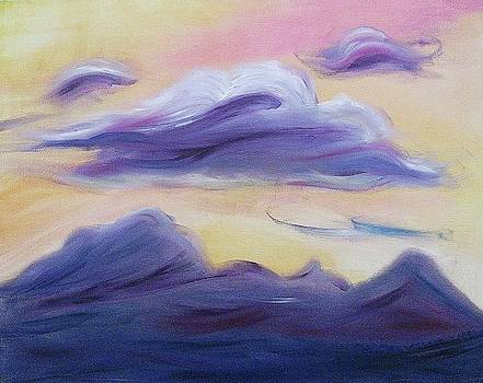 Suzanne  Marie Leclair - Purple Clouds