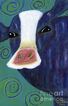 Santa Cow by Carol Eliassen
