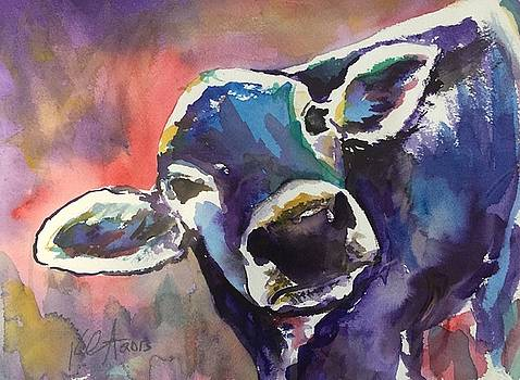 Purple Cow by Kathryn Armstrong