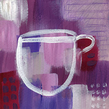 Purple Cup- Art by Linda Woods by Linda Woods