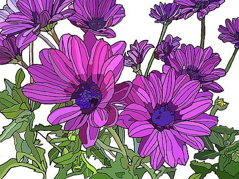 Purple Days by Jamie Downs