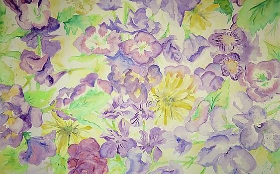 Purple Daze by Caitlin Mitchell