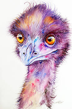 Purple Emu by Arti Chauhan