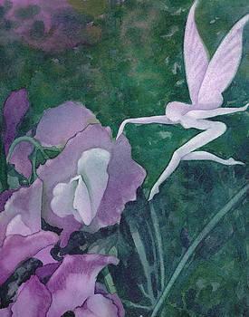 Purple fairy by Christine Winters