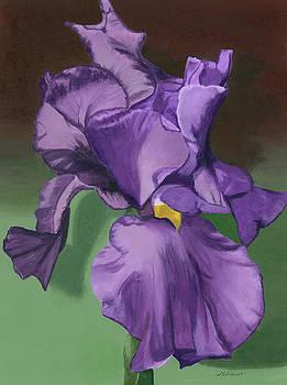 Purple Fantasy by Lynne Reichhart