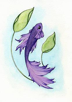 Purple Fish by Nora Blansett