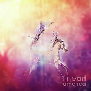 Purple flames by Angel Ciesniarska