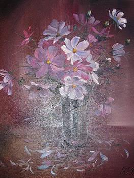 Purple Flowers by Ekaterina Pozdniakova
