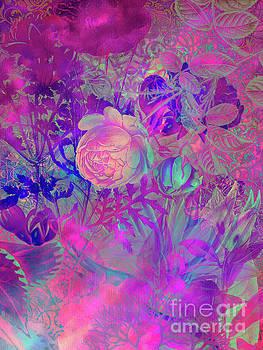 Justyna Jaszke JBJart - Purple flowers
