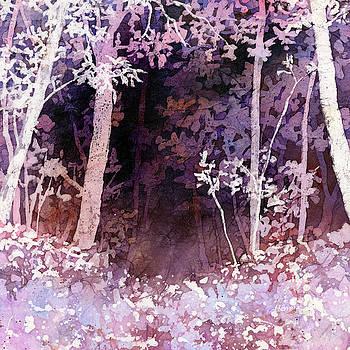 Hailey E Herrera - Purple Forest