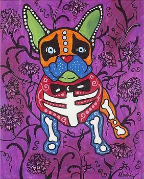Purple Frenchie by Mardi Claw