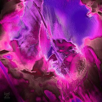 Dee Flouton - Purple Fuchsia Abstract