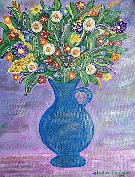 Gina Nicolae Johnson - Purple
