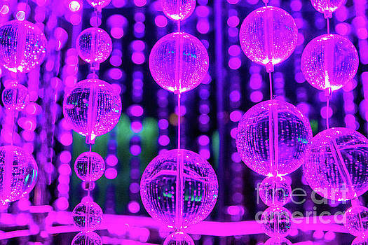 Purple Glass by Tina Hailey