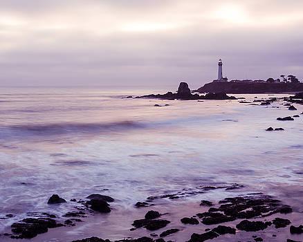 Priya Ghose - Purple Glow At Pigeon Point Lighthouse Alternate Crop