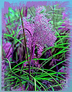 Purple Grasses by Gerlinde Keating - Galleria GK Keating Associates Inc