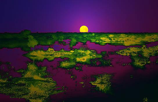 Bliss Of Art - Purple Greens