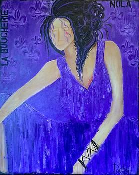 Purple haze by Debbie Hijuelos