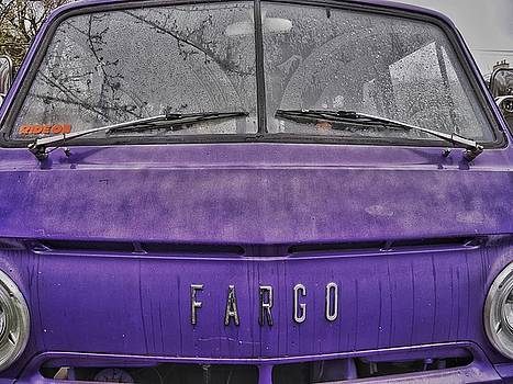 Purple Haze Fargo Van by Steffani Cameron