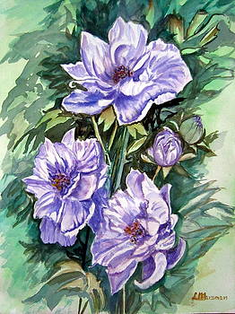 Purple Ladies by Lia  Marsman