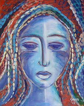 Purple Lady by Gayatri Manchanda