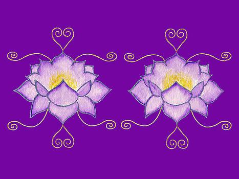 Purple Lotus by Elizabeth Lock