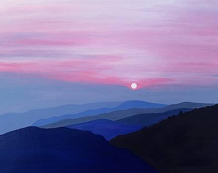 Purple Mountains by Ivy Stevens-Gupta