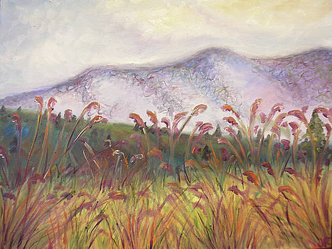 Purple Mountains Majesty by Julie Ross