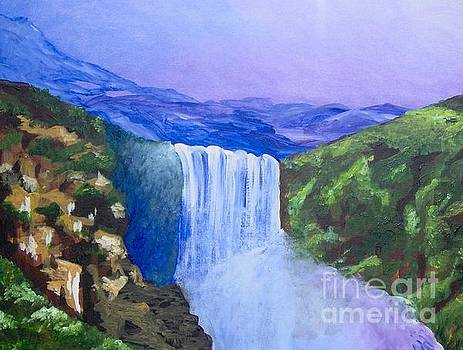 Purple Mountains by Saundra Johnson