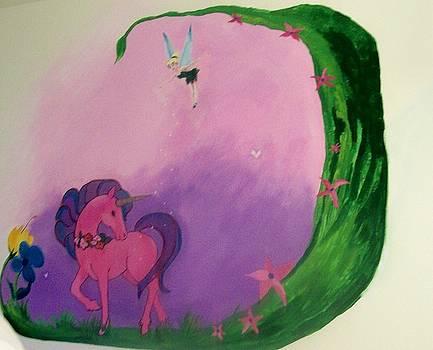 Kathleen Heese - Purple Mural