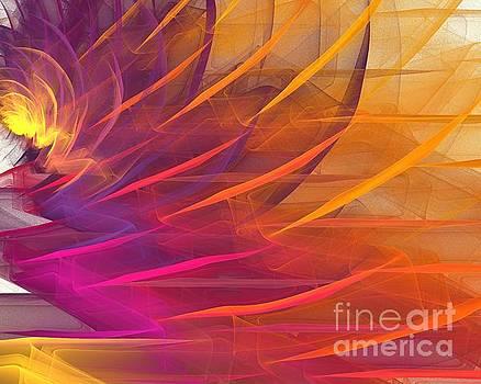 Purple Orange Blossom by Kim Sy Ok