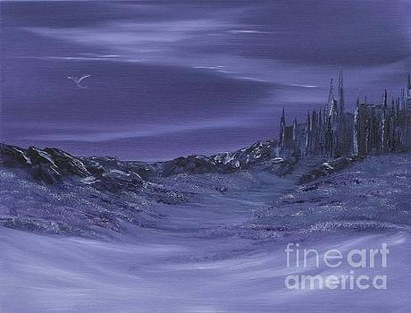 Purple Paradise Sold by Cynthia Adams
