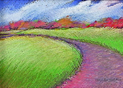 Purple Path to Greener Pastures by Cheryl Brumfield Knox