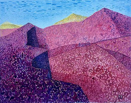 Purple Peak by Vaughan Davies
