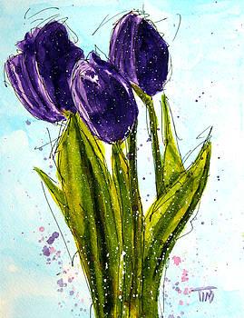 Purple People Greeters by Tim Ross