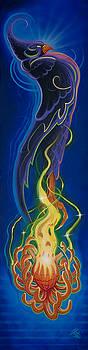 Purple Phoenix by Joshua South