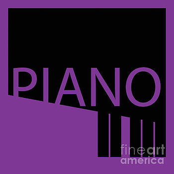 Benjamin Harte - Purple piano