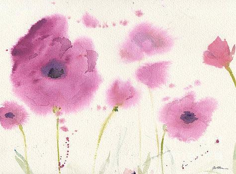 Purple Poppies by Sheila Golden