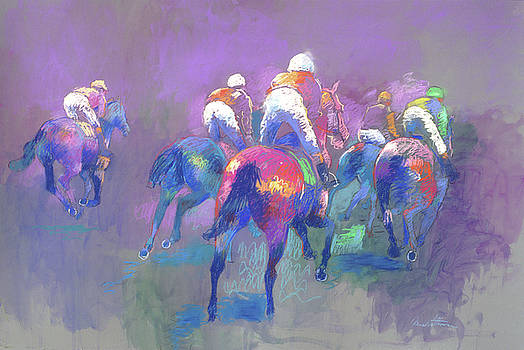 Purple Races by Anne Lattimore