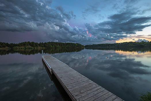 Purple Rain by Aaron J Groen