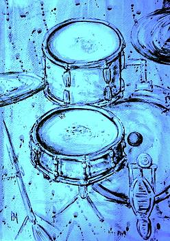 Purple Rain Drums by Pete Maier