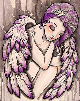Purple rain by Margie Forestier