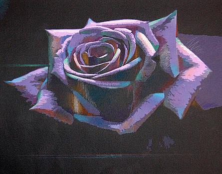 Purple Rose by Barry Shereshevsky