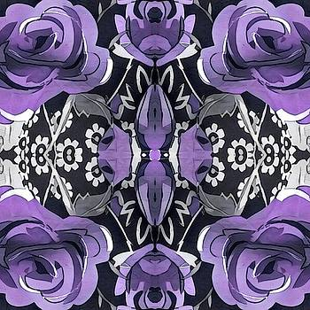 Purple Roses by Patricia Rex