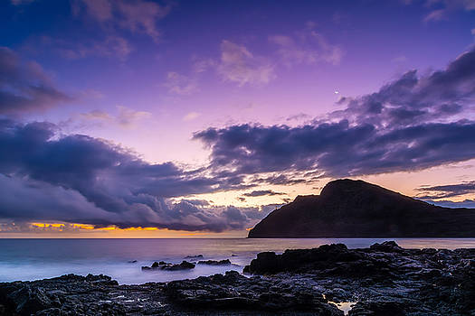 Purple Skies by John Perez